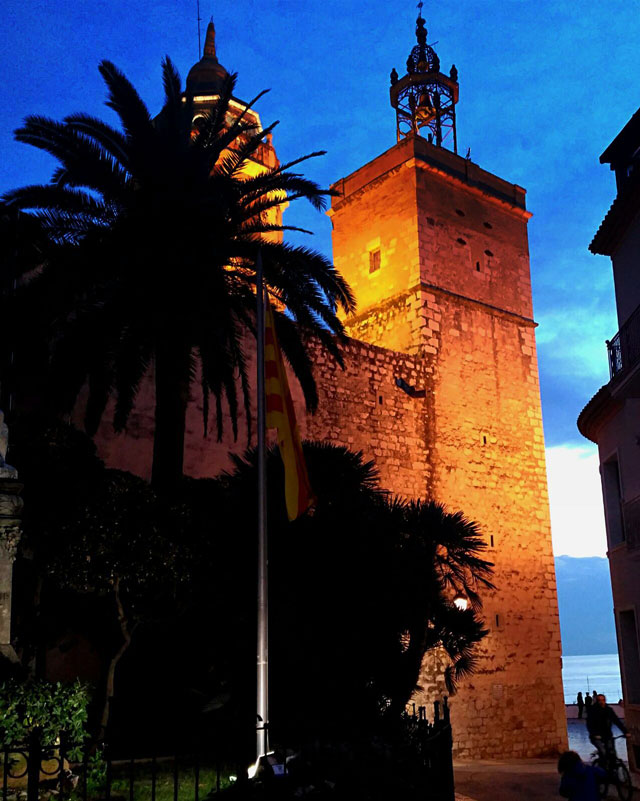 Sitges-church-from-behind